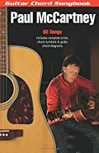 Paul McCartney: جيتار chord songbook (6بوصة × 9. 5بوصة.) جيتار (chord songbooks)
