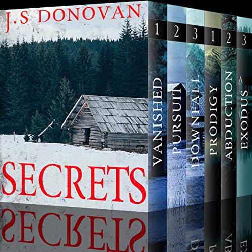 Secrets Boxset audiobook cover art