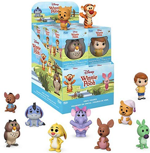 Funko Mini Vinyl Figures: Winnie The Pooh (one Mystery Figure), Multicolor