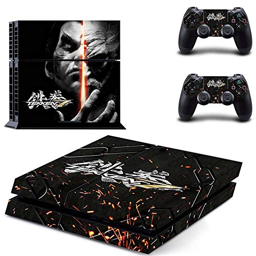 Tekken 7 PS4 Wrap Skin Cover - Playstation 4 Vinyl Decal Sticker Protective for PS4 Console and 2 PS4 Controller by Mr Wonderful Skin