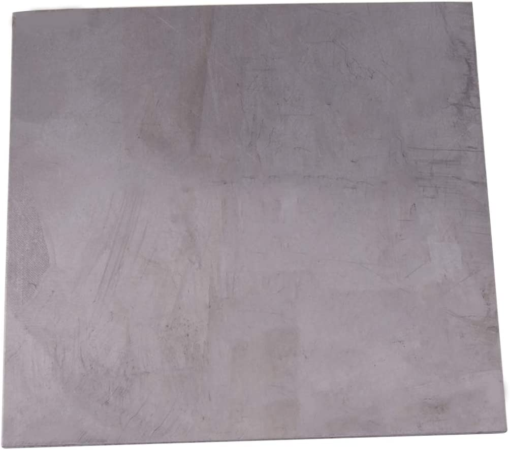Thick Square Titanium Foil Sheet Ti Thin Plate Material 99.8/% Purity Metalworking Supplies 0.02inch Eastar 0.5mm