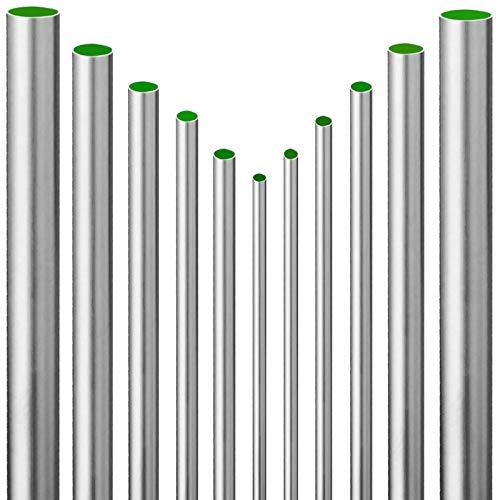 Qualitäts EDELSTAHLROHR Stangenware > 15mm bis 35mm > Länge 0,25m bis 2m > Wunschlänge einfach auswählen >>> 18 mm x 1,0 mm | 0,25 m