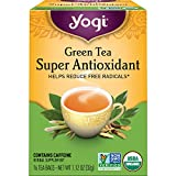 Yogi Tea - Green Tea Super Antioxidant (6 Pack) - Organic Green Tea Blend to...