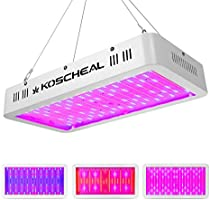 2000W LED Grow Light, Full Spectrum Plant Grow Light for Indoor Plants with Daisy Chain, Double Switch Plant Light for...