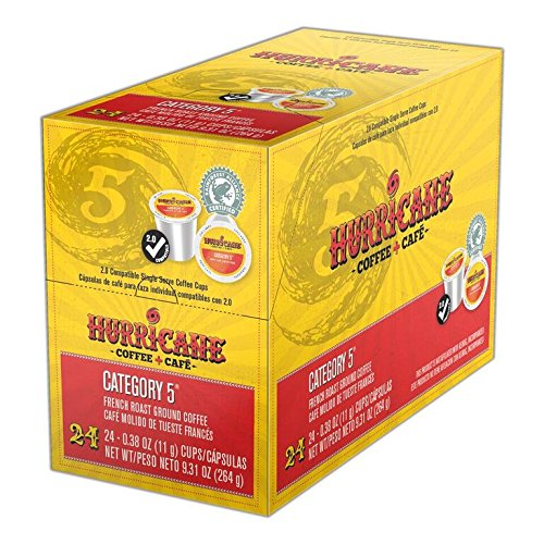 Hurricane Coffee, Category 5, 24 Count, 9.31 Oz
