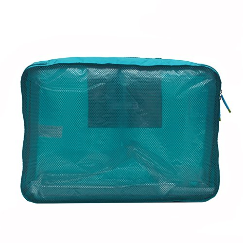 Storage bag Almacenamiento Bolsa de Almacenamiento de Ropa Bolsa de Red Bolsa de Almacenamiento Bolsa de Acabado Bolsa de Almacenamiento de Viaje Hermoso (Color : A)