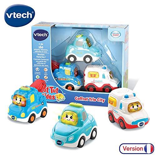 Vtech - 207325 - Jouet Musical - Tut Tut Bolides - Coffret Trio City