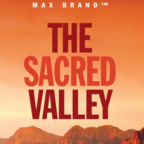 The Sacred Valley audiobook cover art