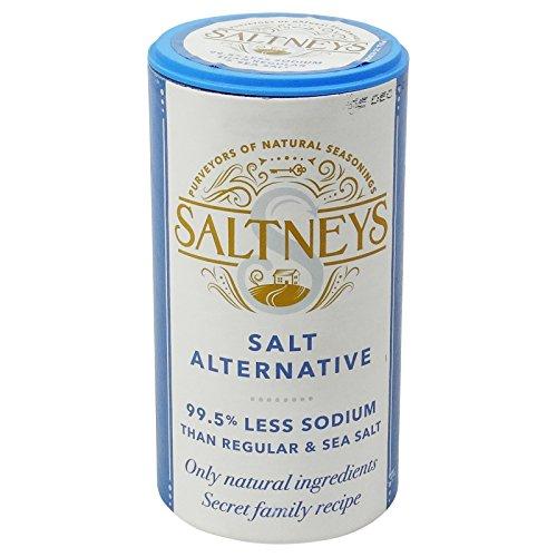 SALTNEYS- Sale Alternativo- Sale a basso contenuto di sodio 99.5 %. Confezione da 250 gr