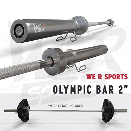 We R Sports Olimpico Manubrio Bar Peso Sollevamento...