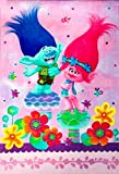 DreamWorks Trolls Bed Blanket (Twin) Multicolored