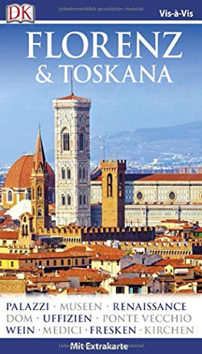Preisvergleich Produktbild Vis-à-Vis Reiseführer Florenz & Toskana: mit Extra-Karte und Mini-Kochbuch zum Herausnehmen