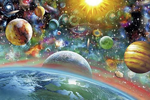 FDDPT Rompecabezas Adultos 1000 Piezas Planet Series