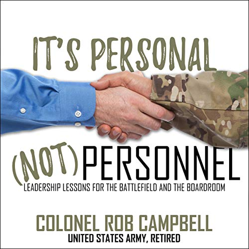 It's Personal, Not Personnel cover art