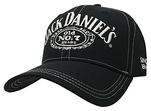 Jack Daniel's Cap JD77-G, Black Jack Daniels, Basecap, Mütze O/S New