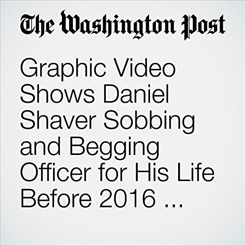 Graphic Video Shows Daniel Shaver Sobbing and Begging Officer for His Life Before 2016 Shooting copertina