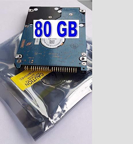 80 GB Disco Duro Compatible con Acer Aspire 3630 el portátil
