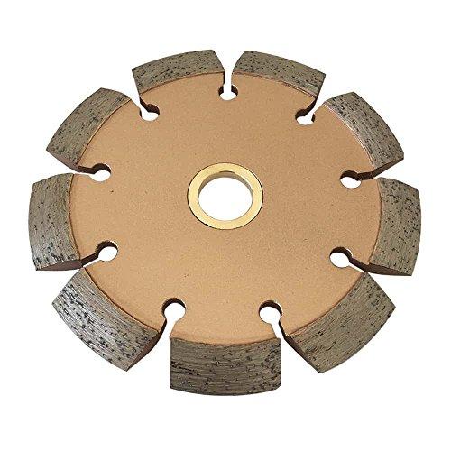 "Crack Chaser Blade for Concrete, Asphalt Repair - 4.5"" Diameter 0.375"" Width 7/8""-5/8"" Arbor"