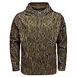 Mossy Oak Men's Standard Camo Hunting Hoodie Performance Fleece, Bottomland, 2X