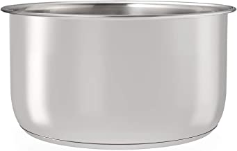 Goldlion Stainless Steel Inner Pot Replacement Insert Liner Accessory Compatible with Ninja Foodi 6.5 Quart