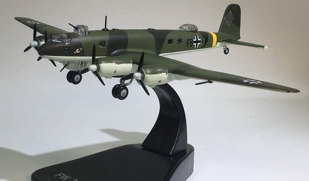 Factory outlet FloZ WWII German New Orleans Mall Fw 200 Condor 144 Aircraft 1 monoplane diecast