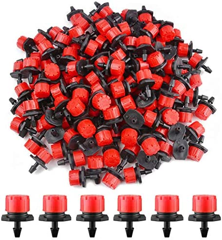 Kalolary 200Pcs Adjustable Irrigation Drippers online shopping Sprinklers New products world's highest quality popular 360 De