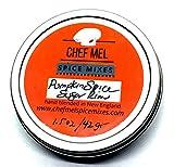 Chef Mel Pumpkin Spice Sugar Cocktail Rim