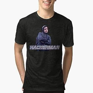 HACKERMAN Mr Robot Triblend TShirtT shirt Hoodie for Men, Women Unisex Full Size.