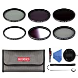 Beschoi 77mm Filter Kits,Included ND Filter Kit...