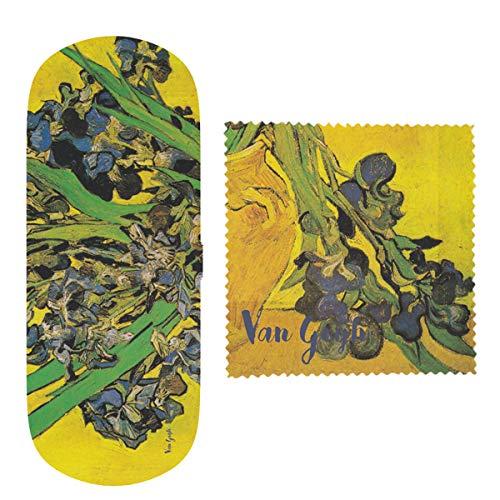 Van Gogh, Estuche de gafas con dibujo de 'Lirios', Enesco