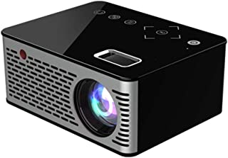 """Mini Portable Projector New Upgrade 1080P Supported 16-110"""" Display HD Home Projector Video Projector Multimedia Connections, Compatible with Laptop DVD Zhhlinyuan"""