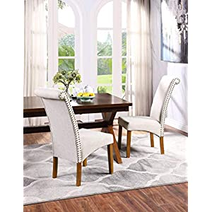 51ALVKugCVL._SS300_ Coastal Dining Accent Chairs & Beach Dining Accent Chairs