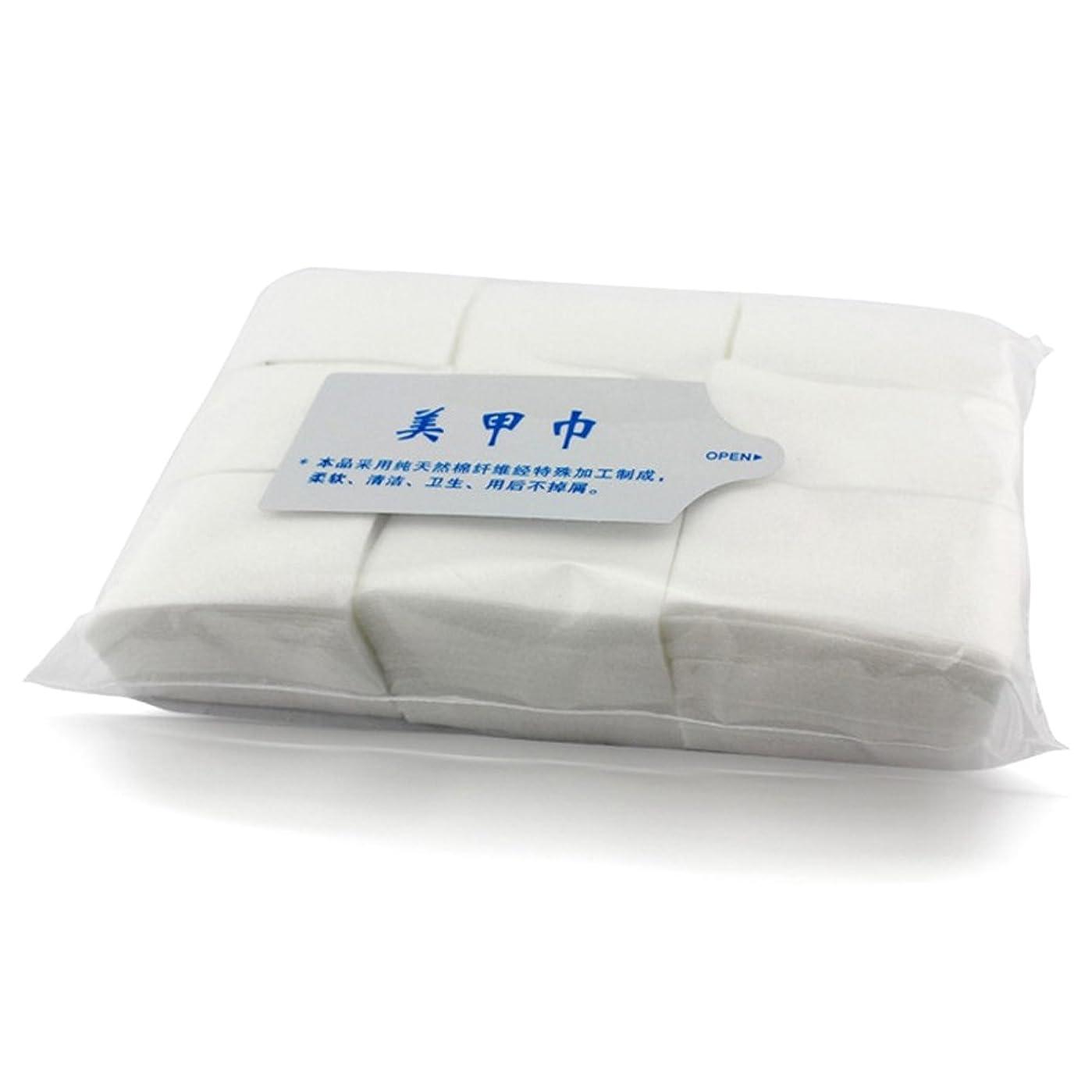 おとなしい制限する乱れネイルワイプ 天然素材不織布 900枚入り コットン ワイプ / ジェル ネイル マニュキア オフ
