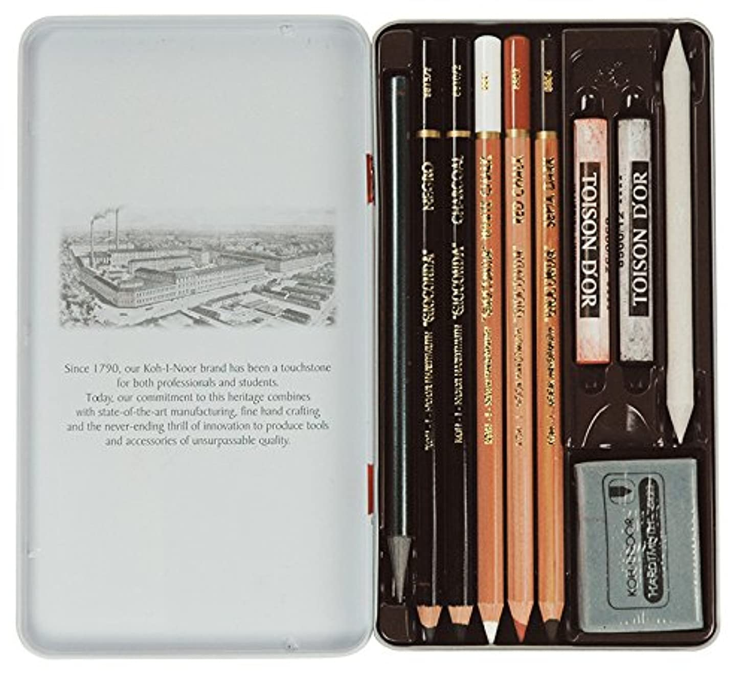 Koh-I-Noor Gioconda 8890 Artists Mini Set (10 pcs)