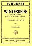Schubert: Winterreise, Op. 89 - Low Voice