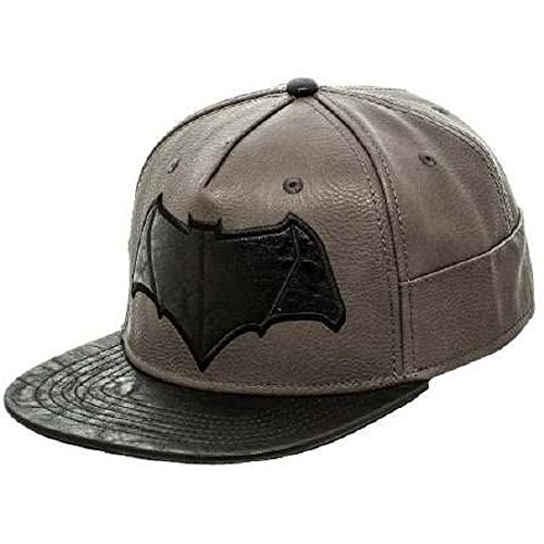 GORRA BATMAN SUPERMAN /BACK CUERO