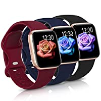 ✅Compatible with Apple Watch Model:Suitable for iWatch series 6,series 5,series 4,series 3,series 2,series 1,series SE. 38mm/40mm-S/M, 38mm/40mm-M/L sizes are made for 38mm and 40mm apple iwatch, 42mm/44mm-S/M, 42mm/44mm-M/L sizes are made for 42mm a...