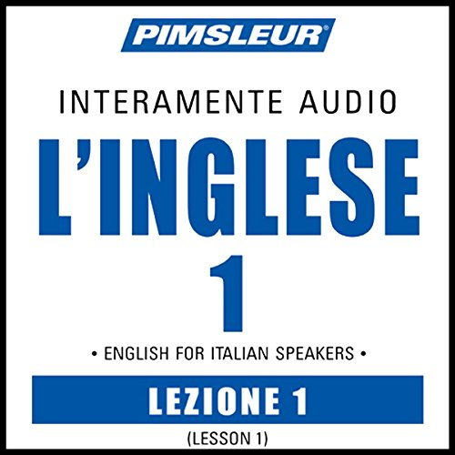 ESL Italian Phase 1, Unit 01 audiobook cover art