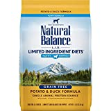 Natural Balance L.I.D. Limited Ingredient Diets Dry Puppy Food, Potato & Duck Formula, 4.5 Pounds