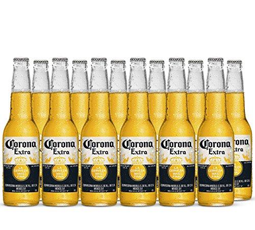 Corona Extra Bier aus Mexico inkl. 0,96 Euro Pfand (12 x 0.355l) MEHRWEG