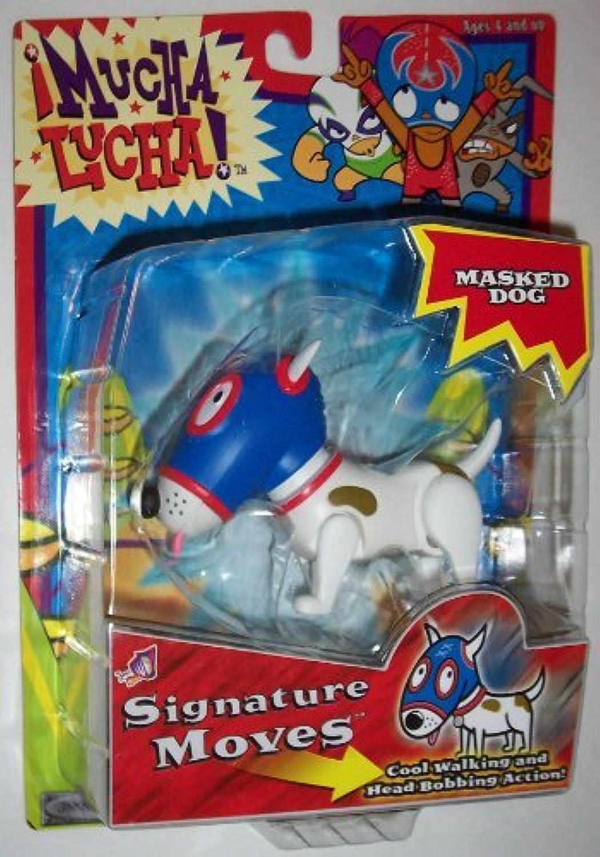 Jakks Pacific Mucha Lucha  Signature Moves Masked Dog Action Figure by Mucha Lucha