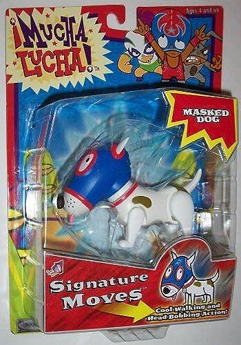 primera vez respuesta Jakks Pacific Mucha Lucha  Signature Moves Masked Masked Masked Dog Action Figure by Mucha Lucha  oferta especial
