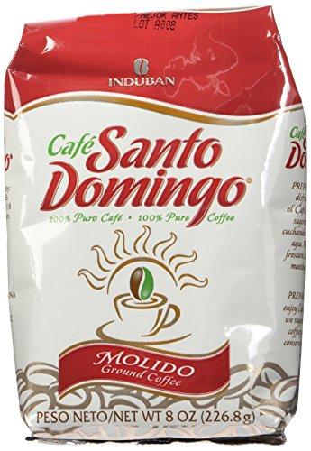 Santo Domingo 8 Unzen gemahlener Kaffee Beutel