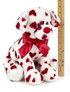 عروض Bearington Romantic Rover Valentines Plush محشوة الحيوان