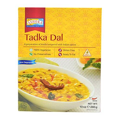 Ashoka Tadka Dal- Lentils with Seasonings 10oz (Pack of 4)
