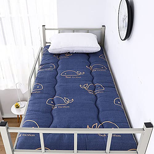 Colchón grueso para el suelo, colchón individual, colchoneta de dormir para estudiantes, colchón, almohada japonesa de futón Tatami, C, 90 x 190 cm