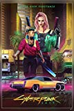 Cyberpunk 2077 Cyberpunk Cd Projekt Red Video Games Digital Art Poster Size : 12 x 18 Inch Rolled and Packed in a Solid cardboard tube to with double protection sheet to prevent from any external damage. Ready to be Framed, Premium Quality Poster Pri...