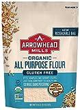 Arrowhead Mills Organic Gluten-Free All-Purpose Flour, 20 oz. Bag (Pack of 6)