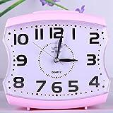 Durable Decorative Supplies Bed Alarm Clocks,Kids Children Students Living Room Desk Silent Alarm