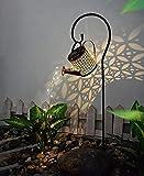 Solar Gießkanne Fairy Garden Light,Star Dusche Licht,LED Solar Laterne,Solarlaterne für Außen,Garten Solarlampen,Garten Dekoration Wegeleuchten